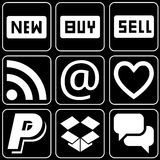 Set of icons (sell, others) Stock Photo