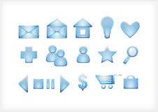 A set of icons for the sit Stock Image