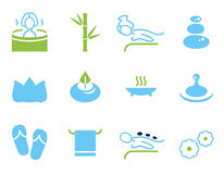 Set of icons for spa Royalty Free Stock Image