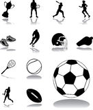 Set icons - 162. Sport Royalty Free Stock Photo