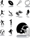 Set icons - 150. Sport Stock Photo