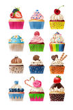 Set of icons sweets Royalty Free Stock Photo