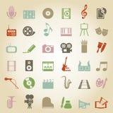 Art icon3 royalty free illustration