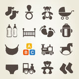 Icons a family7 Royalty Free Stock Image