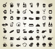 Meal icons Stock Image