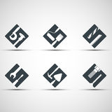 Set of icons tool. Royalty Free Stock Photography