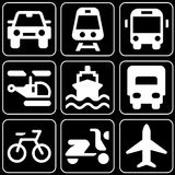 Set of icons (transport, cars) Stock Image
