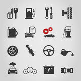 Car icon4. Set of icons transport. A vector illustration Stock Photos