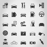 Transport icons5. Set of icons transport. A vector illustration Royalty Free Stock Photo
