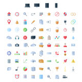 Set of icons for ui user interface mobile devices Stock Photo