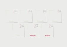 With set of Icons. Vector design template. Royalty Free Stock Photo