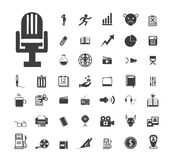 Set of icons. Vector eps.10 Stock Photography