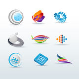 Set Of Icons Vector Illustration Stock Photography