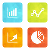 Set icons Stock Photos