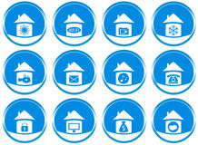 Set icons for web site design Stock Images