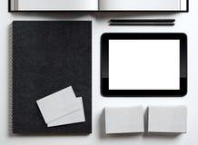 Set of identity elements Royalty Free Stock Photos