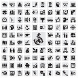 Set ikony. edukacja Fotografia Royalty Free