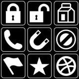 Set ikony (inny) Zdjęcie Stock