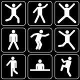 Set ikony (ludzie) Fotografia Stock