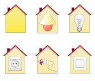 Domowe ikony 2 Fotografia Stock