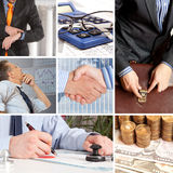 Set of image business Stock Image
