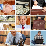 Set of image business Stock Images