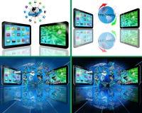 Set of 4 images Stock Photos