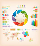 Set of Info graphics elements. Stock Image