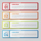 Set of infographics template. vector illustrator. Set of infographic design template. Vector illustration for for business, education,  banners, brochures Royalty Free Stock Images