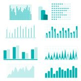 Set of infographic diagram elements for design Royalty Free Stock Image