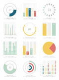 Set Infographic Elemente Stockfoto