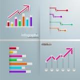 Set Infographic Elemente Lizenzfreie Stockbilder