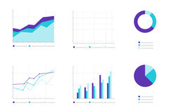 Set of Infographic Elements. Business Royalty Free Stock Image