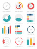 Set of infographic Elements Stock Photos