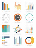 Set of infographic Elements Stock Photography