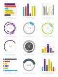 Set of infographic Elements Stock Photo