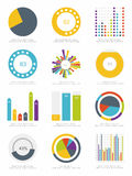Set of infographic Elements Stock Image