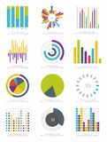 Set of infographic Elements Royalty Free Stock Photos