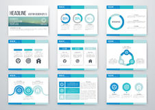 Set of infographic elements Royalty Free Stock Photo