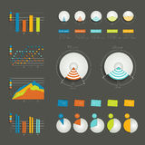 Set of infographic elements. Stock Photography