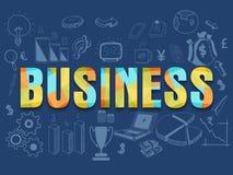 Set infographic elementy dla biznesu Obraz Royalty Free
