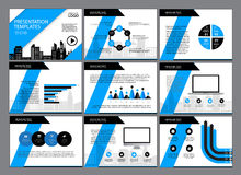 Set of infographic Presentation Template , Infographic Element , Business infographic , Layout design , Modern Style. Royalty Free Stock Images