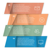 Set of infographic template layouts. Flow chart Stock Photography