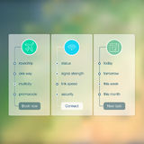 Set of infographic template layouts. Flow chart Stock Images