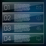 Set of infographic template layouts. Flow chart Royalty Free Stock Image