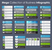 Set of Infographic Templates for Business Vector Stock Images
