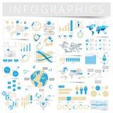 Set of infographics design elements Stock Photos