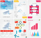Set of infographics elements. A bundle of infographics elements and full editable Royalty Free Illustration