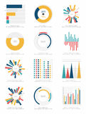 Set of infographics elements Stock Images