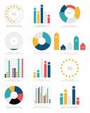 Set of infographics elements Royalty Free Stock Image